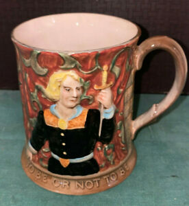 """Vintage Beswick/Royal Doulton England Hamlet """" To Be Or Not To Be""""  #1147  Mug"""