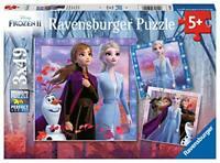 Ravensburger 5011 Disney Frozen 2, 3 x 49 Piece Jigsaw Puzzles for Kids Age 5