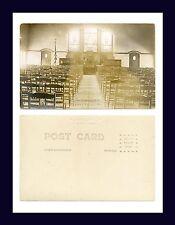 PENNSYLVANIA MIDDLETOWN REAL PHOTO ODD FELLOWS HOME INTERIOR AZO BACK CIRCA 1920
