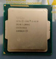 Intel i5-4570 Quad Core 3.20GHz to 3.6GHz Turbo, LGA1150, SR14E - CPU Processor