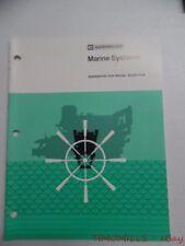 c.1976 Caterpillar Marine Systems Guidebook Industrial Brochure Vintage Original