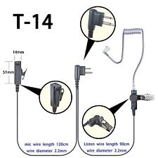 Earpiece Headset For Motorola CLS1110 CLS1410 DLR1020 DLR1060 Portable Radio