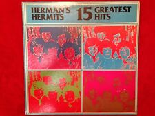 "Herman's Hermits  ""15 Greatest Hits""  LP  1973  Abkco  AB-4227  Rock  USA  EX"