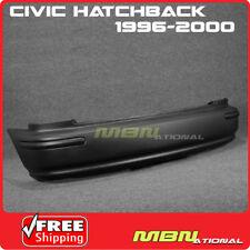 96-00 For Civic Hatchback EK SIR JDM Rear Bumper Cover Conversion Side Molding