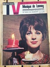 Magazine TV Radio Moustique - Monique de Lannoy, Belmondo - 1963