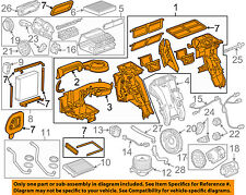 GM OEM HVAC-Ac & Heater Assembly 23369529