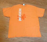 Orange Discoveyland T-shirt 100% pre-shrunk Cotton 2XL Never worn