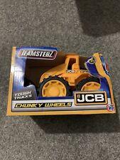 Teamsterz Chunky Wheels Jcb Digger - Tough Trucks Jcb Toy New Damaged Box