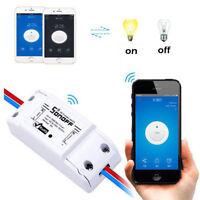 Sonoff ITEAD WiFi Wireless Smart Switch Module Shell ABS Socket for Home DIY Hot