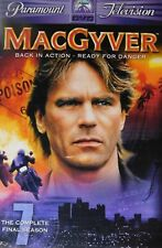 Macgyver The Complete Seventh Season Fourteen Episodes 4-Disc Dvd Set Sealed