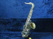 Bundy II Tenor Saxophone Ser#1223531 Mostly Playing Needs One Pad