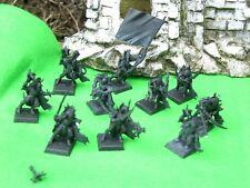 Warhammer Dark Elf, Negro Ark corsarios x10, undercoated Lote #2