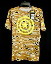 Under Armour Mens Captain America Alter Ego Compression T-Shirt Camo Size XL