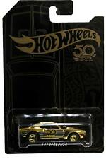2018 Hot Wheels 50th Anniversary Black and Gold '67 Camaro chase/gold
