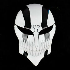 Bleach Ichigo Kurosaki Mask Bankai Cosplay Full Masque Updated Versions Black