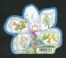 New caledonia. year: 2013. theme: Flora. Flowers. orchids.