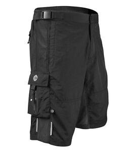 Aero Tech Designs Mens Summit Mountain Bike Shorts Commuter Short with Pockets