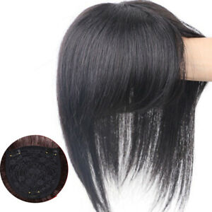 100% Real Human Hair Toupee/Hairpiece/Topper/Wig | Lace Clip Top For Women