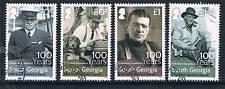South Georgia 2016 Shackleton 100th Anniversary 4v set CTO