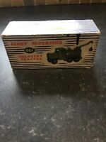 dinky supertoys Recovery Tractor Box Only