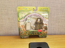 Art Asylum Mini Mates Lord of the Rings Saruman and Wormtongue, New!
