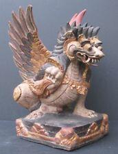 Grand Lion Singha en Bois, mythologie de BALI INDONÉSIE
