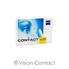 Contact Day 30 Spheric 1 x 6 sphärische Kontaktlinsen Monatslinsen von Zeiss
