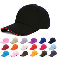 Men Women New Black Baseball Cap Snapback Hat Hip-Hop Adjustable Bboy Caps CHZ
