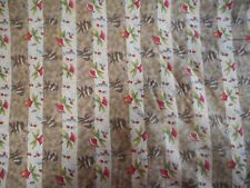 EMPRESS (FLOWERS) ~ Quilting Fabric 100% COTTON (New) 50 x 110 cms