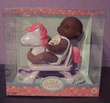 "New Aa Berenguer Doll Lots To Love Babies 5"" Mini Nursery PlaySet Rocking Horse"