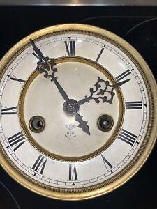 Gustav Becker Silesia P42 Uhr Wanduhr Pendeluhr Regulator Uhrwerk Antik Defekt