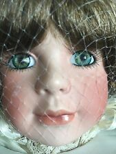 "Treasured Heirloom Collection Porcelain Doll , "" Kyra ""  NIB, COA"