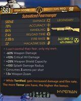 Anointed Fearmonger Shotgun X4 & X8 Variants (YOU PICK) - Borderlands 3 PS4