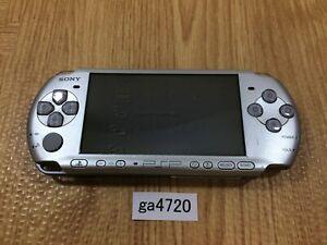 ga4720 Plz Read Item Condi PSP-3000 MYSTIC Silver SONY PSP Console Japan