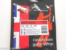 Rotosound RS77M Jazz Bass Guitar Strings Monel Flatwound Medium Scale Std Gauge