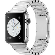 Apple Watch Series 2 42mm Stainless Steel Case Silver Link Bracelet MNPT2LL/A BX