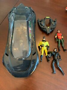 Vintage 1992 Kenner BATMAN RETURNS Bruce Wayne Custom Coupe Car Batmobile
