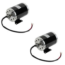 pair (2) 1000W 48V electric motor w Base f scooter bike go-kart minibike ZY1020