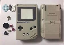 Gris Nintendo Game Boy Clásico Original DMG-01 Carcasa/Cero/Carcasa Completa