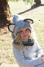 Gray Wolf Cowl Hood Lobster Pirate
