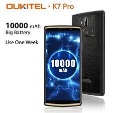 OUKITEL K7 Pro 4GB 64GB 4G Phablet 10000mAh 6,0 Zoll Handy Android 9.0 Octa Core