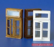 Plus Model 1:35 Windows Set I Foil & Resin Diorama Accessory #183