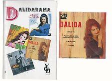 DALIDA- DISCOGRAFIE-CHRISTIAN PALMIER- AVEC MINI CD- DALIDA-. ENTRES BON ETAT