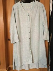 Poetry Linen Tunic Sz 14 New With Defect