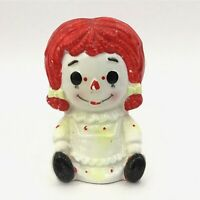 Rubens Raggedy Ann Ceramic Planter Head Vase Collectible Vintage