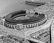 Cleveland Indians MUNICIPAL STADIUM Glossy 8x10 Photo Browns Stadium Print