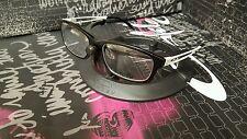Oakley RX Speculate Brushed Black w/ White (Mislead Confession Emblem Intercede)