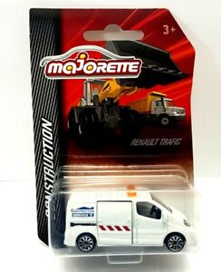 Majorette Construction Renault Trafic Service Van New And Sealed