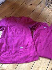 New listing Greys Anatomy womens scrub set Xs & Xsp, pink