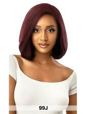 Outre Premium Synthetic Swiss Lace Front Wig - SARITA